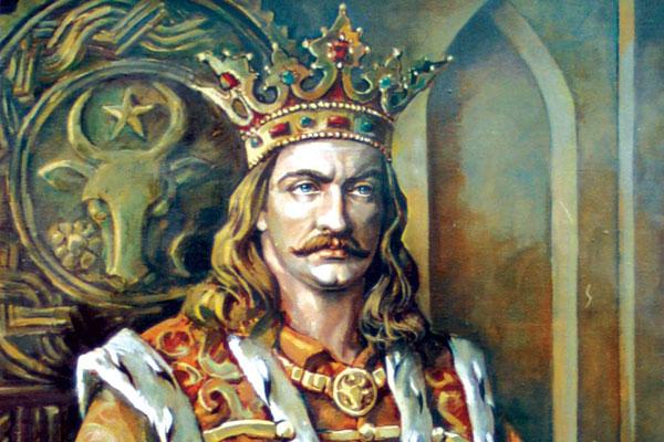 румынский царь Штефан