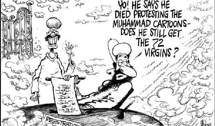 Карикатуры на пророка Мухаммеда