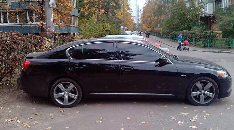 Lexus GS300 2007 года