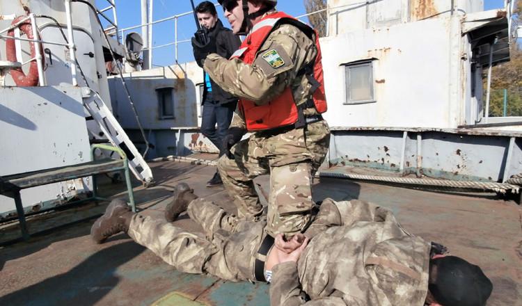 моряки-пограничники