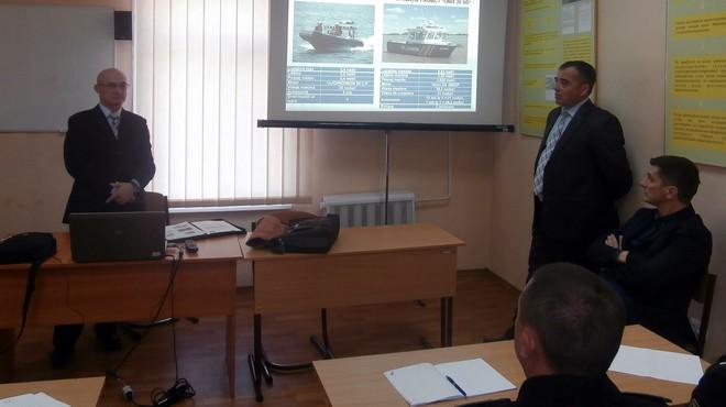 В Измаил к пограничникам приехала Береговая охрана Румынии