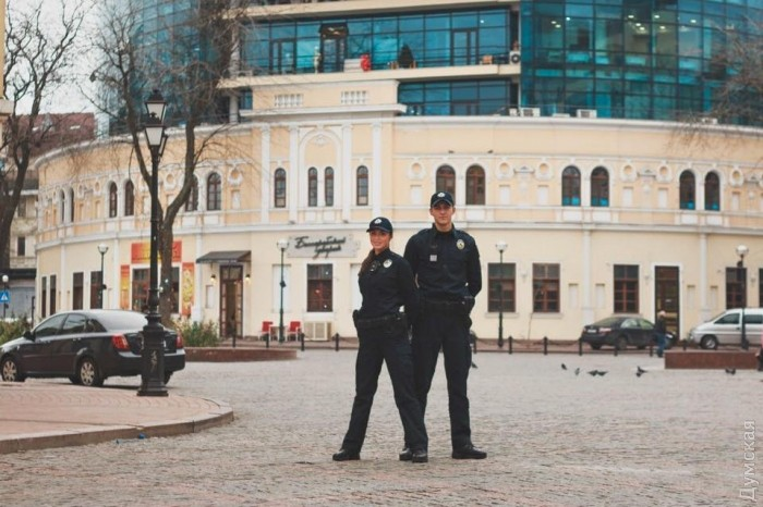 Полиция Одессы девушки