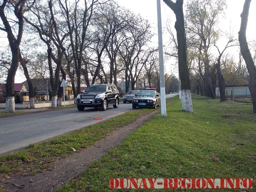 ДТП в Измаиле. Мопед - ВАЗ-2107