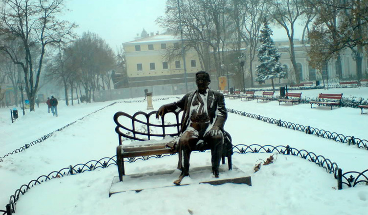 Одесса Зима