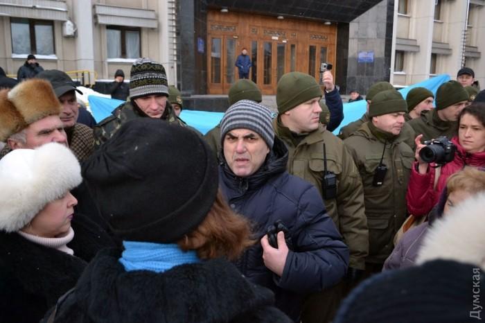 акция приверженцев политики Путина