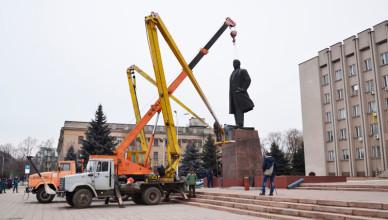Ленина убрали в Измаиле