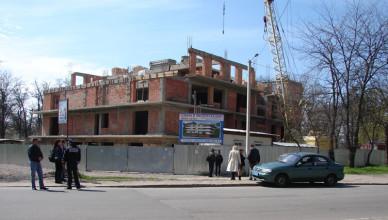 строительство в Гагаринском леске Измаил