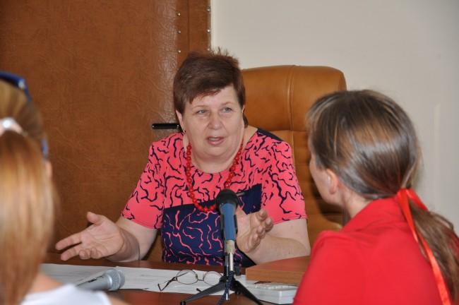 Пресс-конференция Валентины Стойковой
