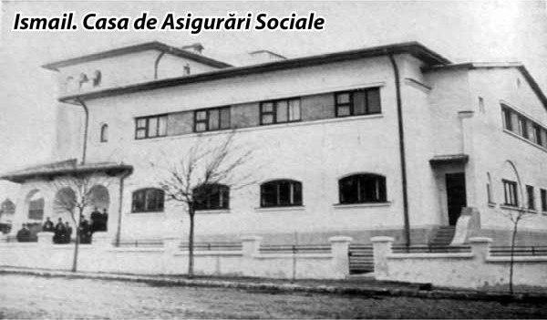 Измаильский военный госпиталь. Некогда в этом прекрасном здании располагался румынский Страховой дом (casa de asiqurari sociale).