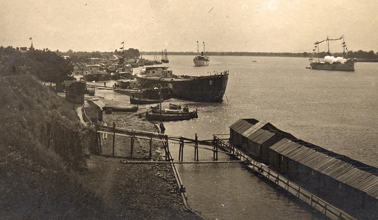 акватория порта Измаил