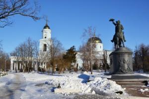 Памятник Суворову. Измаил